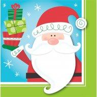 16 Serviettes Copains de Noël