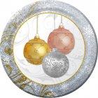 8 Assiettes Noël scintillant
