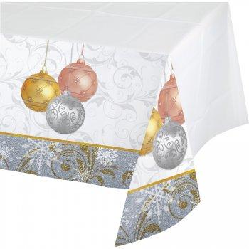 Nappe Noël scintillant