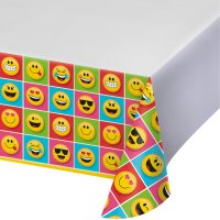 Contient : 1 x Nappe Emoji Smiley