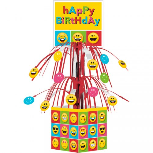 Centre de table cascade Emoji Smiley (36 cm)