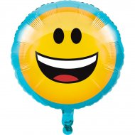 Ballon à plat Emoji Smiley