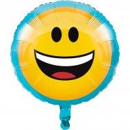 Ballon à plat Emoji Smiley