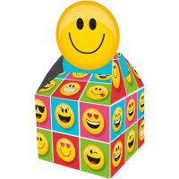 Contient : 1 x 8 Boites Cadeaux Emoji Smiley
