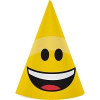 Contient : 1 x 8 Chapeaux Emoji Smiley