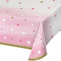 Contient : 1 x Nappe Little Star Baby Girl