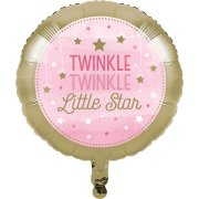 Ballon à plat Little Star Baby Girl
