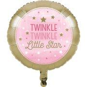 Ballon à plat Little Star Baby Girl
