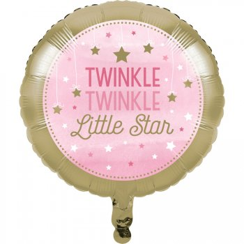 Ballon Hélium Little Star Baby Girl