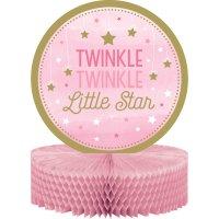 Contient : 1 x Centre de table Little Star Baby Girl (30 cm)