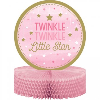 Centre de table Little Star Baby Girl (30 cm)