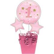 3 Décos sur Tige Little Star Baby Girl