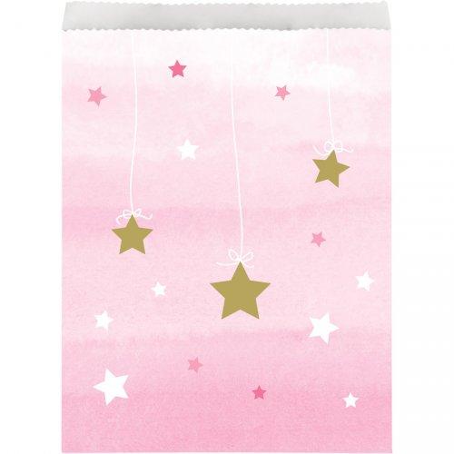10 Sachets cadeaux Little Star Baby Girl