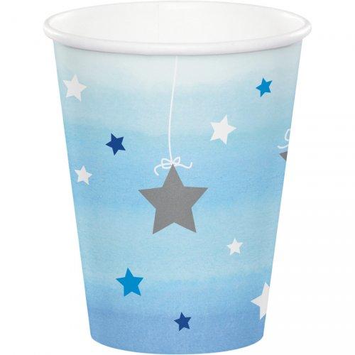 8 Gobelets Little Star Baby Boy
