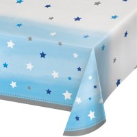 Contient : 1 x Nappe Little Star Baby Boy