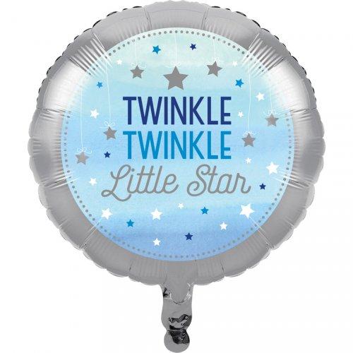 Ballon à plat Little Star Baby Boy