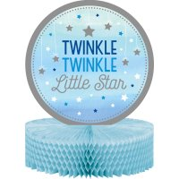Contient : 1 x Centre de table Little Star Baby Boy (30 cm)
