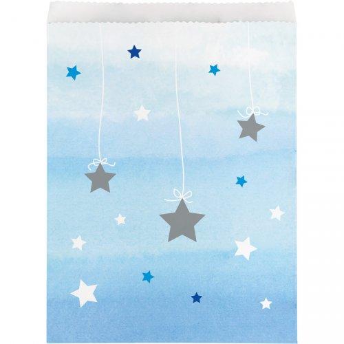 10 Sachets cadeaux Little Star baby Boy (22 cm)
