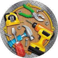 Contient : 1 x 8 Assiettes Caisse à outils