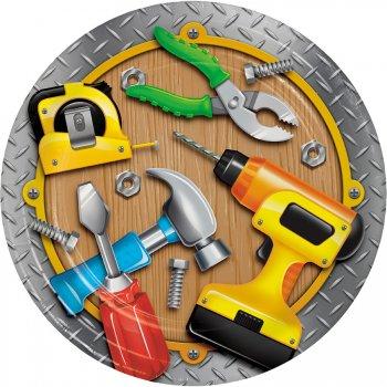 8 Assiettes Caisse à outils