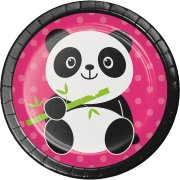 8 Petites Assiettes Joyeux Panda