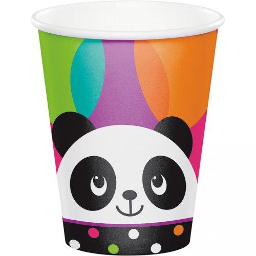 8 Gobelets Joyeux Panda