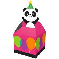 Contient : 1 x 8 boites Cadeaux Joyeux Panda (11 cm)