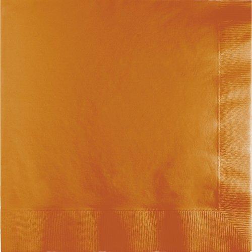 50 Serviettes Orange Camel
