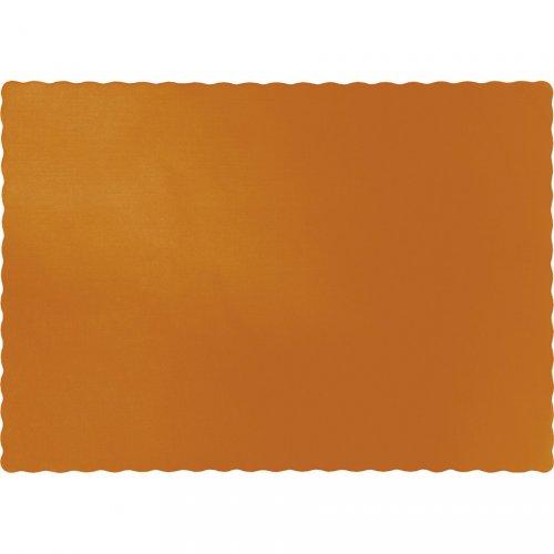 50 Sets de table Orange Camel