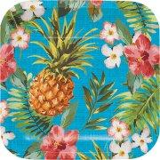 8 Petites Assiettes Aloha Ananas