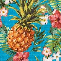 Contient : 1 x 16 Serviettes Aloha Ananas