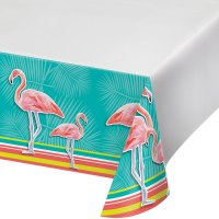 Contient : 1 x Nappe Flamant Rose Oasis