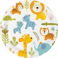 8 Assiettes Happy Jungle