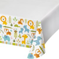 Contient : 1 x Nappe Happy Jungle