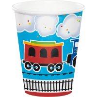 Contient : 1 x 8 Gobelets Petit Train