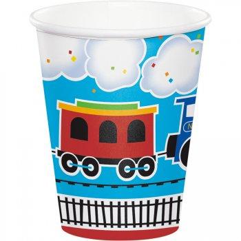 8 Gobelets Petit Train