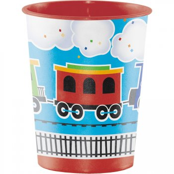 Grand Gobelet Petit Train (47 cl) - Plastique