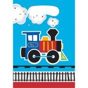 8 Pochettes Cadeaux Petit Train
