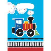 Contient : 1 x 8 Pochettes Cadeaux Petit Train