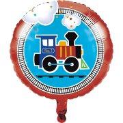 Ballon Gonflé à l'Hélium Petit Train