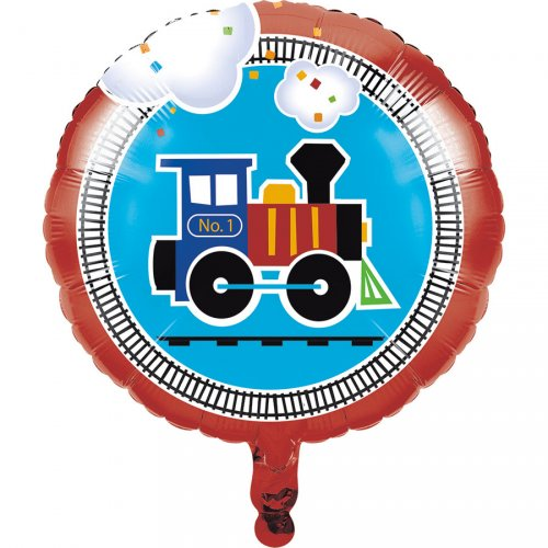 Ballon Hélium Petit Train
