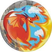 8 Petites Assiettes Dragon