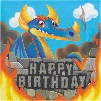 Contient : 1 x 16 Serviettes Dragon