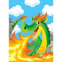 Contient : 1 x 8 Pochettes Cadeaux Dragon