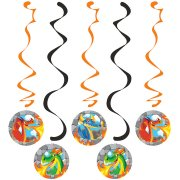 5 Guirlandes Spirales Dragon