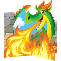 Contient : 1 x Centre de table Dragon