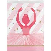 10 Pochettes Cadeaux Danseuse Etoile - Papier