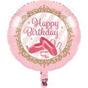 Ballon Gonflé à l'Hélium Danseuse Etoile