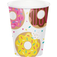 Contient : 1 x 8 Gobelets Donuts Party