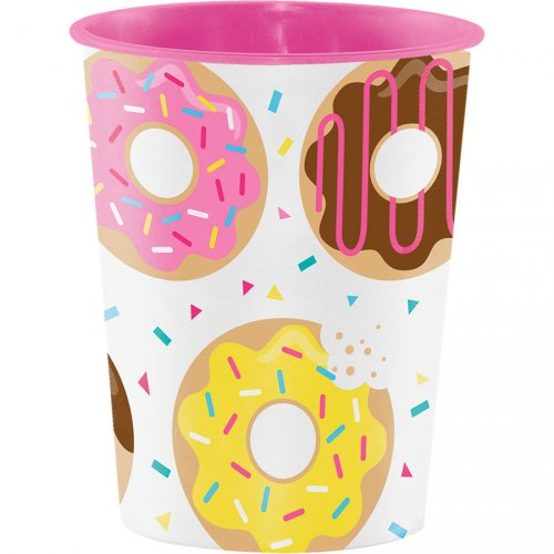 Grand Gobelet Donuts Party (47 cl) - Plastique